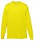 Augusta Sportswear 788 Performance Long Sleeve T-Shirt Power Yellow