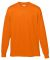 Augusta Sportswear 788 Performance Long Sleeve T-Shirt Power Orange
