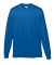 Augusta Sportswear 789 Youth Wicking Long Sleeve T-Shirt Royal