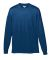 Augusta Sportswear 789 Youth Wicking Long Sleeve T-Shirt Navy