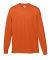 Augusta Sportswear 789 Youth Wicking Long Sleeve T-Shirt Orange