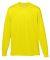 Augusta Sportswear 789 Youth Wicking Long Sleeve T-Shirt Power Yellow