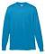 Augusta Sportswear 789 Youth Wicking Long Sleeve T-Shirt Power Blue