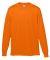 Augusta Sportswear 789 Youth Wicking Long Sleeve T-Shirt Power Orange
