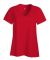 S04V Nano-T Women's V-Neck T-Shirt Athletic Red