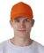 8120 UltraClub® Classic Cut Cotton Twill Cap ORANGE