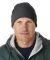 8130 UltraClub® Acrylic Knit Beanie with Cuff  HEATHER GREY