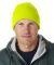 8130 UltraClub® Acrylic Knit Beanie with Cuff  SAFETY YELLOW