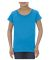 3362 ALSTYLE Girl Sheer Jersey Full Length T Turquoise