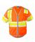 ML Kishigo 1573-1574 Premium Brilliant Series Ultimate Reflective Class 3 Vest Orange