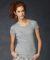 1441 Anvil Ladies' 1x1 Baby Rib Scoop T-Shirt