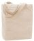 Liberty Bags 9861 Allison Cotton Canvas Tote NATURAL