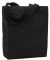 Liberty Bags 9861 Allison Cotton Canvas Tote BLACK
