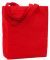 Liberty Bags 9861 Allison Cotton Canvas Tote RED