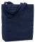 Liberty Bags 9861 Allison Cotton Canvas Tote NAVY