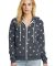 Alternative Apparel 9573 Ladies Eco Fleece Hoodie STARS
