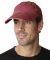 SB101 Adams Cotton Twill Pigment-Dyed Sunbuster Cap Nautical Red