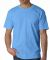 2905 Bayside Adult Union Made Cotton Tee Carolina Blue