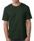 5040 Bayside Adult Short-Sleeve Cotton Tee Hunter Green