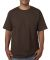5040 Bayside Adult Short-Sleeve Cotton Tee Chocolate