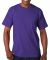 7100 Bayside Adult Short-Sleeve Tee with Pocket Purple