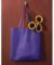 BE002 BAGedge Non-Woven Promo Tote PURPLE