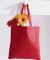 BE003 BAGedge 8 oz. Canvas Tote RED