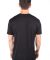 MC134 Black Modal Cotton T-Shirt Back View
