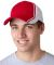 CG102 Adams Cotton Twill Collegiate Cap Red (Discontinued)