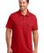 DM333 District Made™ Mens Jersey Double Pocket Polo Classic Red