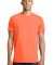 District Young Mens Concert Tee DT5000 Neon Orange