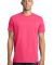 District Young Mens Concert Tee DT5000 Neon Pink