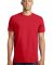District Young Mens Concert Tee DT5000 New Red