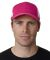 FA102 Adams Cotton Twill Fairway Cap Bright Pink/White