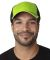 FA102 Adams Cotton Twill Fairway Cap Neon Green/Black