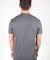 MC134 Dark Grey Modal Cotton T-Shirt Back View