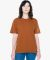 American Apparel HJ402W Unisex Heavy Jersey Box T-Shirt FADED RUST