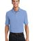 Port Authority Pique Knit Polo with Pocket K420P Light Blue