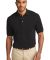 Port Authority Pique Knit Polo K420 Black