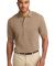 Port Authority Pique Knit Polo K420 Khaki Heather