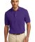 Port Authority Pique Knit Polo K420 Purple