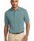 Port Authority Pique Knit Polo K420 Seafoam