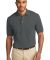 Port Authority Pique Knit Polo K420 Steel Grey
