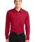 K540LS Port Authority® Silk Touch™ Performance Long Sleeve Polo Red