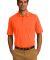 Port & Company KP55P Jersey Knit Pocket Polo Safety Orange