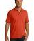 Port & Co KP55T mpany   Tall Core Blend Jersey Knit Polo Orange