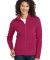 Port Authority Ladies Microfleece Jacket L223 Dark Fuchsia