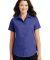 Port Authority Ladies Short Sleeve Value Poplin Shirt L633 Med. Blue
