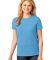 LPC54 Port & Company® Ladies 5.4-oz 100% Cotton T-Shirt Aquatic Blue