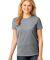 LPC54 Port & Company® Ladies 5.4-oz 100% Cotton T-Shirt Athl Heather